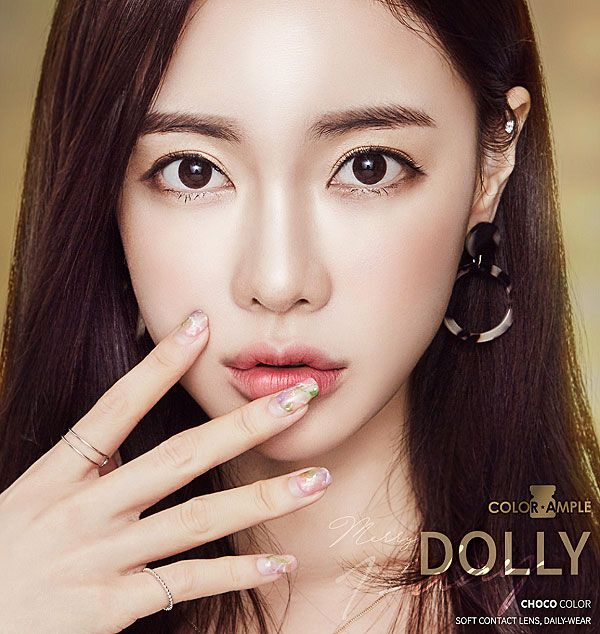 colorample merry dolly choco silicone hydrogel