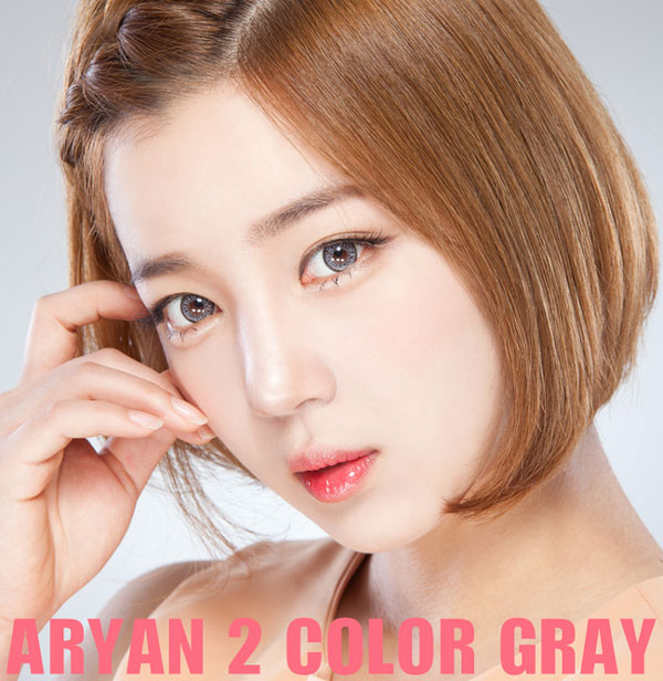 Arian 2color Gray circle lenses
