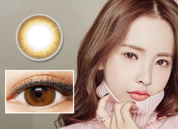 Cappucino Brown Color lens