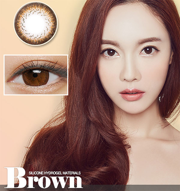 Cha Cha Brown Silicone Hydrogel