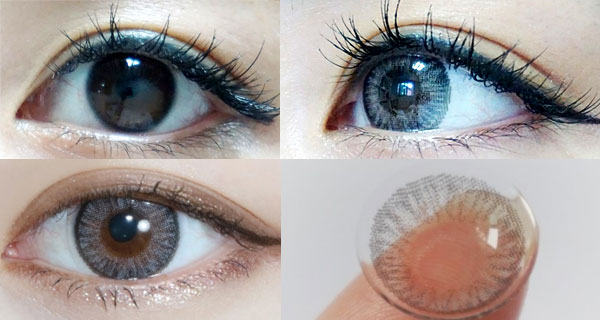 Cocktail 1Day Dry Gray contacts review