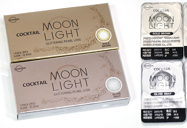 Cocktail Moon Light Silicone Hydrogel