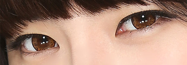 Cutie Brown circle lenses