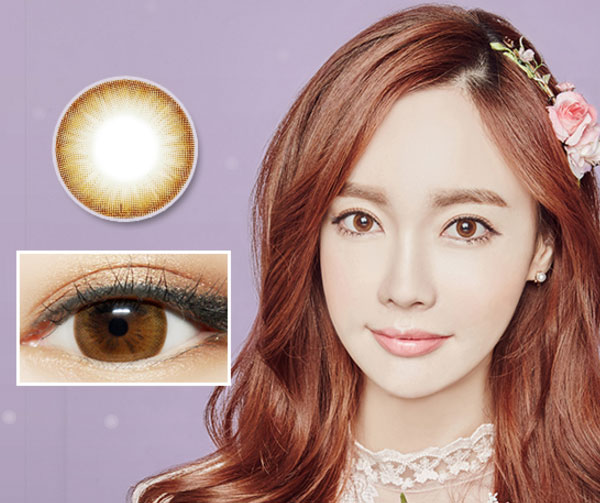 Latte Brown Silicone Hydrogel