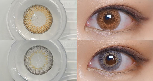 LesMe Water Ample 3 Color Contacts