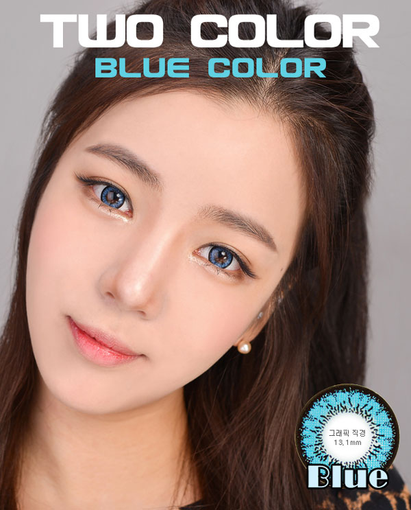 Magic 2 Color Blue circle lenses