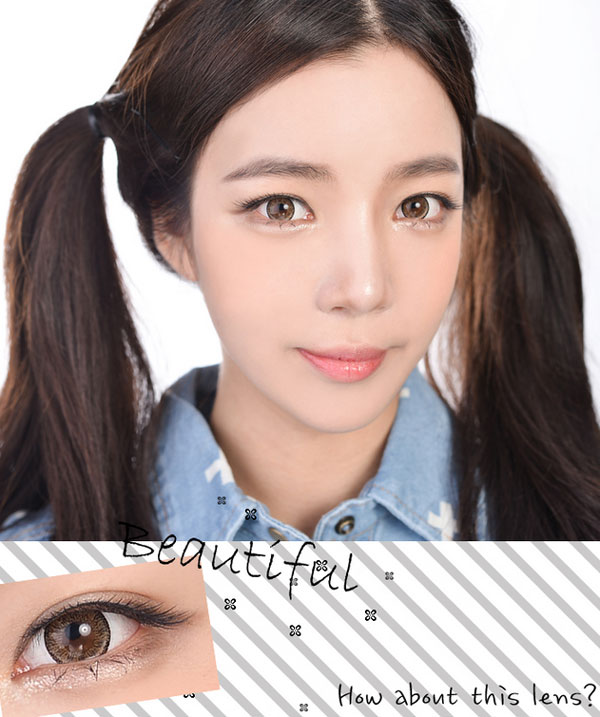 Promo Brown circle lenses