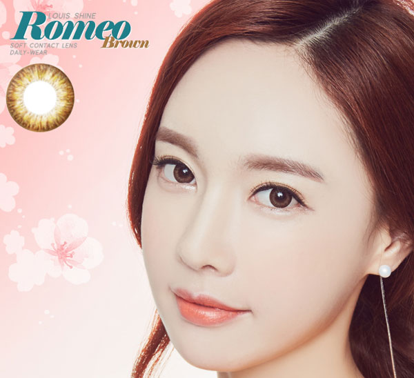 Romeo Brown circle lens
