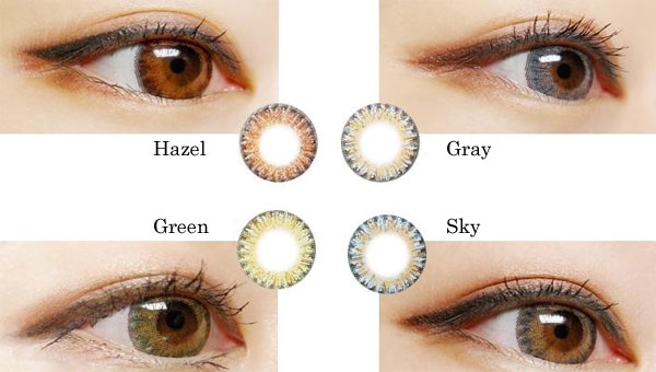 Shining 3 Color lenses