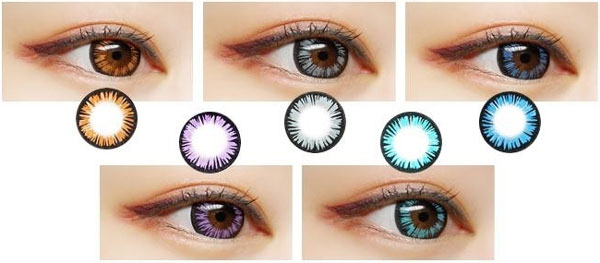 Shining Circle Color lenses