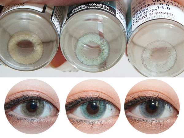 Vassen NA HoloGram circle lenses