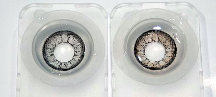 natural deep circle lenses