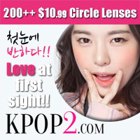 KPOP2 Cheap Colored Contacts Banner