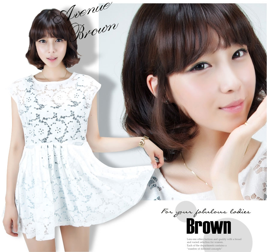 [G7 contact lens] Evenue Brown 13.8mm