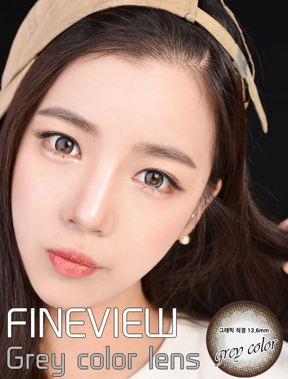 Apple Mango Gray circle lenses