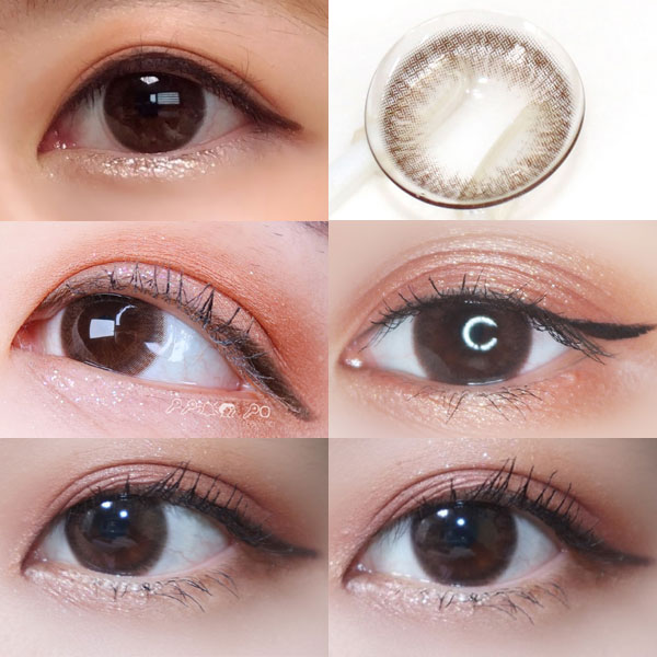 Lens Me Louis Shine Cocktail Lagoon Choco 13.4 mm