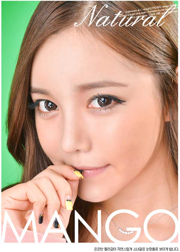 Mango Brown Circle Lenses