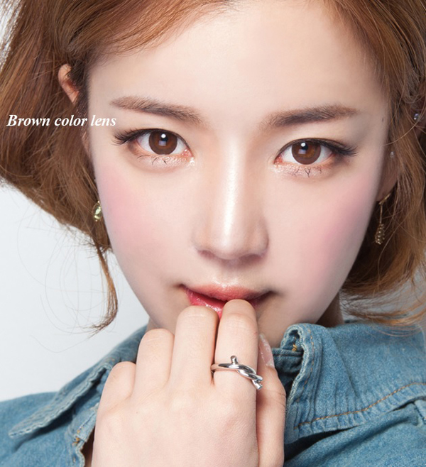 [Neo Vision circle lenses] Dali Brown 13.3mm