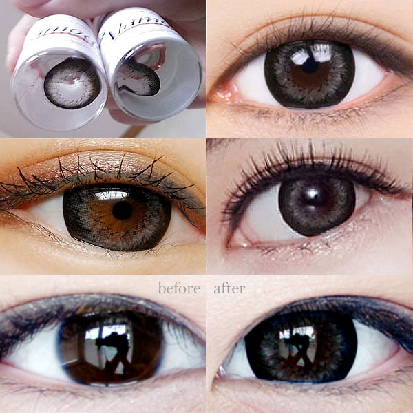 Alamode Gray color contact lenses