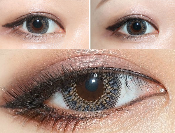 Chick 3 color grey contacts