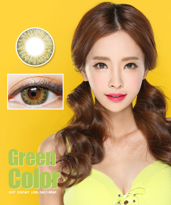 Chick 3 Color Green 13.8mm
