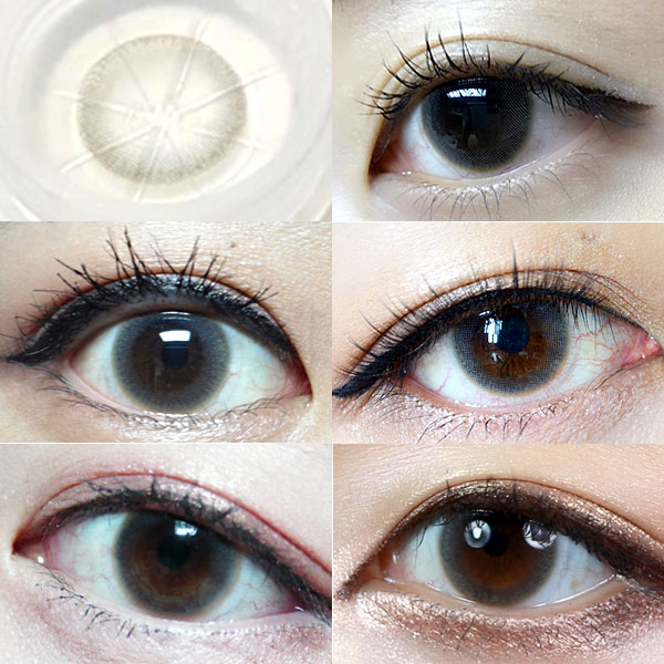 Sand Gray colored contacts review