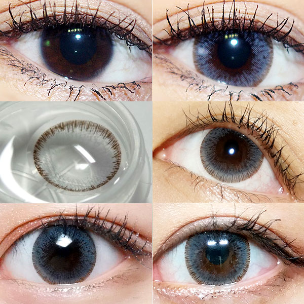 circle lenses before after
