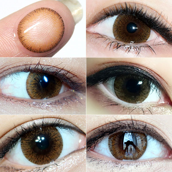 brown colored contacts review