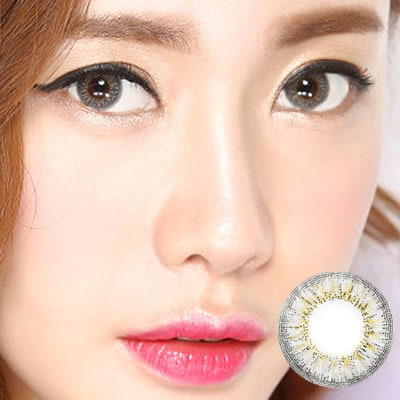Kiss 3 Color Graycontacts