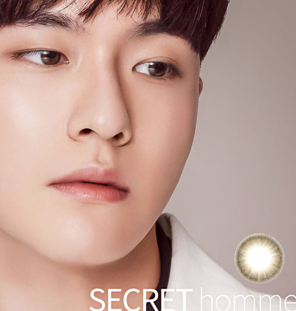 Secret Homme Brown lens